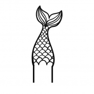 Taarttopper - Zeemeerminstaart, fig. 1