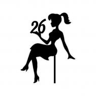 Taarttopper - Meisje + leeftijd, fig. 1