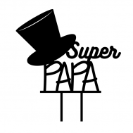Taarttopper - Super papa, fig. 1