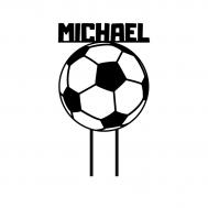 Taarttopper - Voetbal + voornaam, fig. 1
