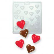 Chocolade mold hartjes mini - PME, fig. 1