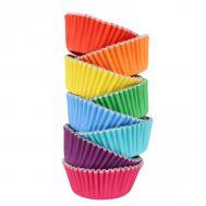 Metallic regenboog gemixt - Baking cups 100 st., fig. 2