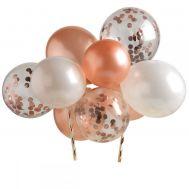 Cake ballonnen roze goud, fig. 2