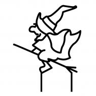 Taarttopper - Heks op bezemsteel, fig. 2