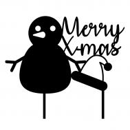 Taarttopper - Merry x-mas + sneeuwpop, fig. 2