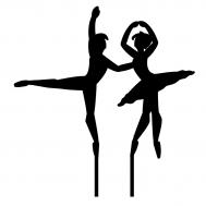 Taarttopper - Danspaar ballet, fig. 1