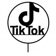 Taarttopper - Tiktok logo, fig. 1