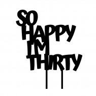 Taarttopper - So happy i'm thirty, fig. 1