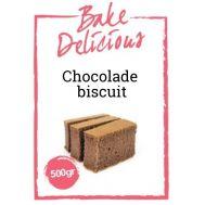 Mix voor Chocolade Biscuit 500 gr - Bake Delicious, fig. 1
