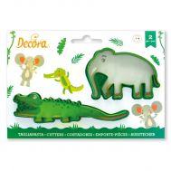 Krokodil & olifant uitsteker set/2 - Decora, fig. 1