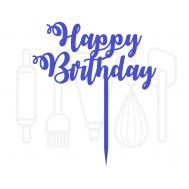 Cupcakeprikker - Happy birthday 12 stuks, fig. 2