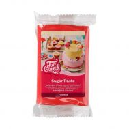 Rolfondant rood (fire red) 250 gr - FunCakes, fig. 1