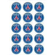 Eetbare print - 15 rondjes 5 cm - Paris Saint Germain logo, fig. 2