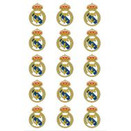 Eetbare print - 15 rondjes 5 cm - Real Madrid logo, fig. 2