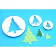 Kerstboom uitsteker set/3 - PME, fig. 1