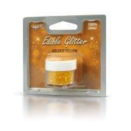 Eetbare glitter geel goud - Rainbow dust, fig. 1