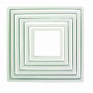 Kunststof uitstekers vierkant set/6 - PME, fig. 1