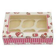 Cadeaudoos + insert voor 6 cupcakes, fig. 1