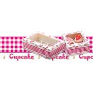 Cadeaudoos + insert voor 12 cupcakes, fig. 1