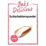 Suikerbakkerspoeder 5 kg - Bake Delicious, fig. 1