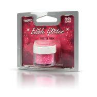 Eetbare glitter pastel roze - Rainbow dust, fig. 1