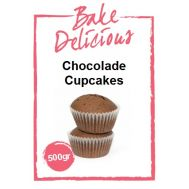 Mix Voor Chocolade Cupcakes 500 Gr - Bake Delicious, fig. 1