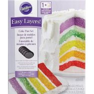 Wilton Easy Layers bakpan Rond 15 cm set/5, fig. 1
