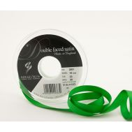 Satijn Lint 10 mm - Groen (Emerald Green) - 1 Meter, fig. 1