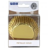Metallic goud - baking cups (30 st), fig. 1