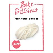 Meringue poeder 100 gr - Bake Delicious, fig. 1