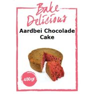 Aardbei Chocolade Cake Mix 480 Gr - Bake Delicious, fig. 1