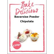 Bavaroise poeder Chipolata 150 gr - Bake Delicious, fig. 1