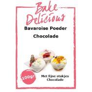 Bavaroise poeder Chocolade met fijne stukjes chocolade 100 gr - Bake Delicious, fig. 1