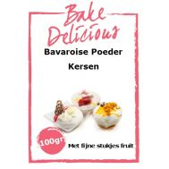 Bavaroise Poeder Kersen Met fijne stukjes fruit 100 Gr - Bake Delicious, fig. 1
