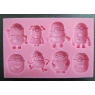 Minions Mold Set/8, fig. 1