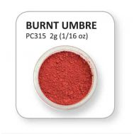 Colour Powder - Burnt Umbre, fig. 1