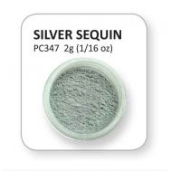 Lustre Powder - Silver Sequin, fig. 1