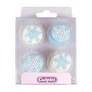 Suikerdecoratie sneeuwster 12 st - Culpitt, fig. 1
