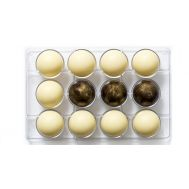Polycarbonaat Chocolade mold halve bol 12 x 5 cm - Decora, fig. 1