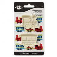 Easy Pops Plastic Mold - Train and Coach Set/2, fig. 1