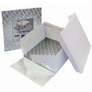 PME taartdoos 25 x 25 x 15 cm + vierkant board, fig. 1