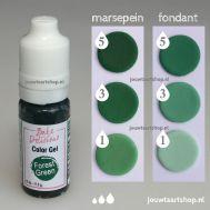 Kleurgel donkergroen (forest green) - Bake Delicious, fig. 1