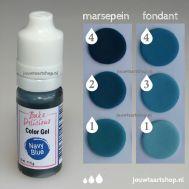 Kleurgel donkerblauw (navy blue) - Bake Delicious, fig. 1