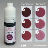 Kleurgel bordeauxrood (red purple) - Bake Delicious, fig. 1