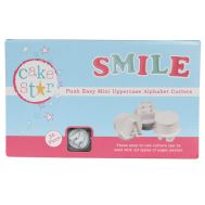 Push easy mini uitstekers upper case alfabet set/26 - Cake Star, fig. 1