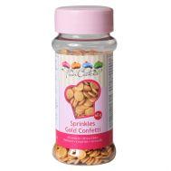 Confetti goud 60 gr - FunCakes, fig. 1