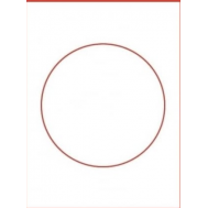Eetbare print - rond 20 cm, fig. 1