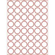 Eetbare print - 48 rondjes 3 cm, fig. 1