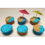 Traktatiepakket - Strand cupcakes, fig. 1