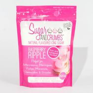 Suikerbakkerspoeder smaak Raspberry ripple 500 gr - Sugar and Crumbs, fig. 1